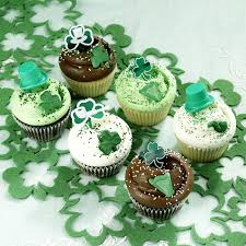 Classic Cupcakes Decorated With StPatricks Day Theme