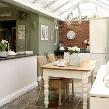 Painted Dining Table A Conservatory Can Be Versatile Addition To Any House