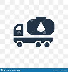 100 Used Fuel Trucks Truck Vector Icon Isolated On Transparent Background