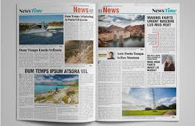 InDesign Newspaper Templates 2016