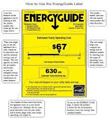 How To Use The EnergyGuide Label