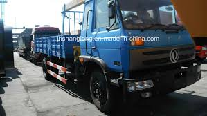 China Dongfeng Chassis 3 Ton Truck Mounted Crane - China Truck ...