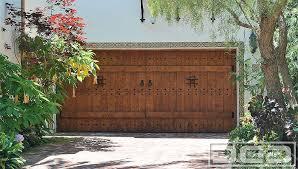 Santa Barbara Spanish Style Garage Doors
