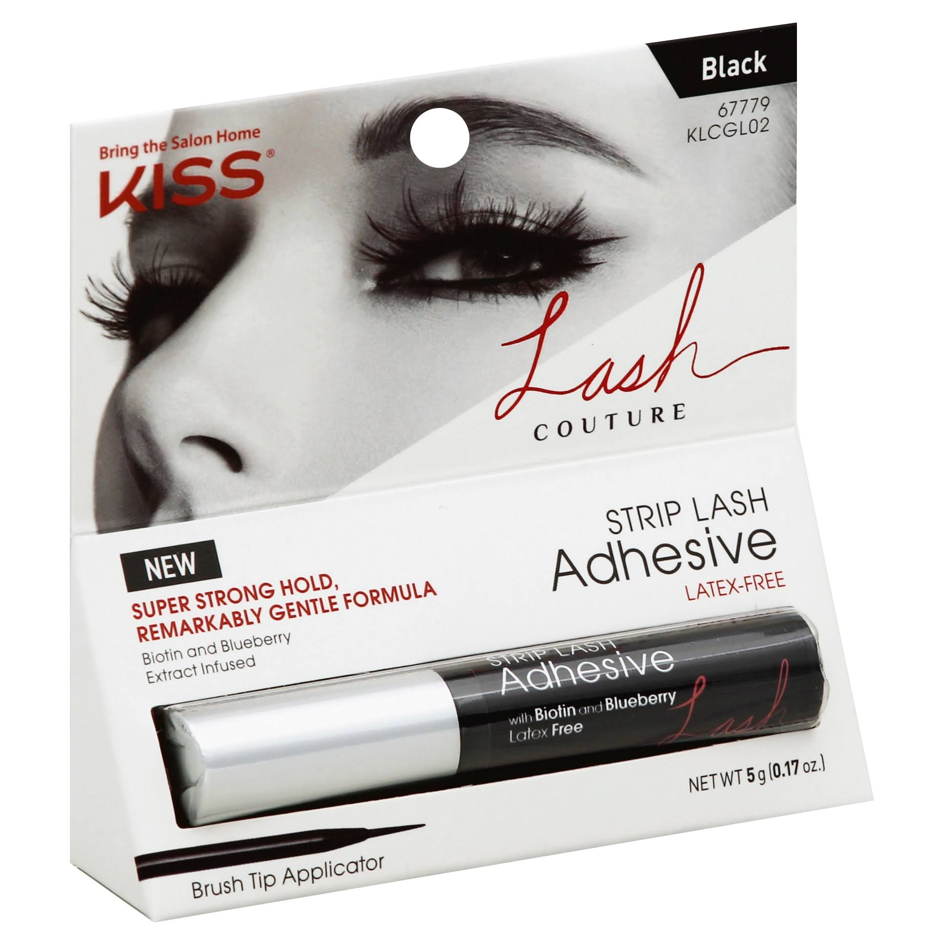 Kiss Lash Couture Adhesive Strip Lash - Black