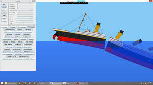 sinking ship simulator titanic 2 sink the titanic sinking simulator 2