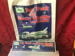 Hess 1999 Toy Truck And Space Shuttle With Satellite - N127 | EBay