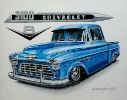 Custom Blue 1955 Chevy Truck By Nethompson On DeviantArt 1955 Chevy Truck Chevy Truck Rear Three Quarter Ideas For Mid Atlantic Classic Cars The 471955 Chevrolet Pickup Driven 3100 Sale On Classiccarscom First Series Chevygmc 55 Second Brothers Parts Tci Eeering 51959 Suspension 4link Leaf 3200 Halfton Longwheelbase Pickup With 2 Phils Chevys A At The Big Bend Balloo Flickr Outrageous Hot Rod Network Cameo Side 59