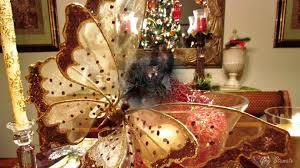 Elegant Christmas Table Top Decoration Ideas Youtube