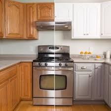 Cabinet Refinishing Kit Before And After by Awesome Before And After Diy Kitchen Cabinet Makeover What A