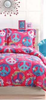 Peace Sign Duvet Cover Uk Cosmo Girl Peace Sign Bedding Peace Sign