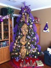 Lsu Tree I Have Two Every Year But Love The Addition Of Tiger