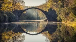 100 Water Bridge Germany The Rakotzbrcke Landscape Photography In East