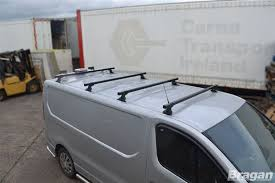 To Fit 2014+ Renault Trafic MK3 4 Bar Roof Rack Metal Bars Rails Van ...
