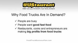 Food Truck Business Plan - YouTube