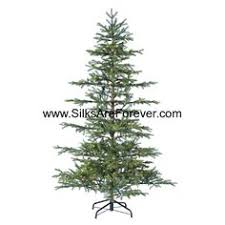 7Hx64W Layer Pine Lighted Artificial Christmas Tree W Stand Green