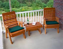 Cedar Outdoor Furniture Style
