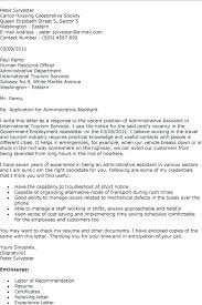 18 Sample Cover Letter for Administrative 10 Ideas Administrative