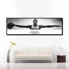 wand kunst leinwand bild für wohnzimmer nacht wohnkultur michael sport basketball poster hd druck leinwand malerei