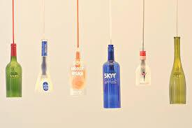 Wine Bottle Pendant Light Kit Firefly Upcycle That 18