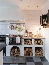 bildergebnis für holzofen in küche integrieren küchen