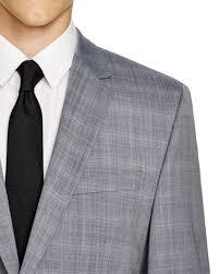 hugo plaid suit hugo slim fit suit grey teduh hostel