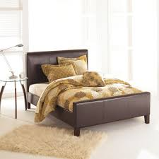 Fashion Bed Group Euro Sable King Size Platform Bed with Side