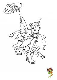 Leyla Winx Club Coloring Pages For Girls Printable Free 04