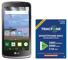 Amazon TracFone LG Rebel 4G LTE Prepaid Smartphone with