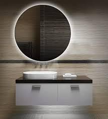 badezimmerspiegel mit beleuchtung led spiegel 50 cm