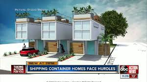 100 Homes Shipping Containers Container Homes Face Hurdles In Tampa Bay