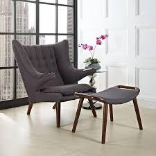 Vintage Hans Wegner Papa Bear Chair by Wegner Papa Bear Chair U0026 Ottoman Reproduction Hans Wegner