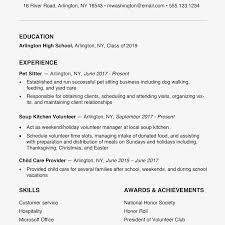High School Resume Examples And Writing Tips With Entry Level Construction Jobs No Experience TheBalance 2063278 1000x1000px