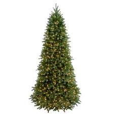 9 Ft Feel Real Jersey Frasier Fir Slim Hinged Artificial Christmas Tree