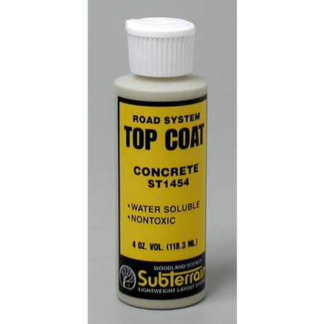 Woodland Scenics ST1454 Top Coat Concrete 4 fl. oz.