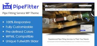 Pipe Fitter Fitting Service WordPress Theme Template