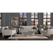 Michael Amini Living Room Sets by Michael Amini Melrose Plaza V Back Sofa Living Room Set