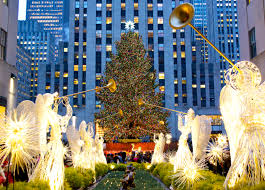 Rockefeller Plaza Christmas Tree 2014 by Celebrating Christmas Abroad Cheapflights