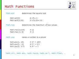 Javascript Math Ceil Floor by Computers And Scientific Thinking David Reed Creighton University