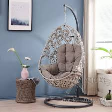 Compare Hanging Chair Cushion Swing Basket Cradle Bird's ...
