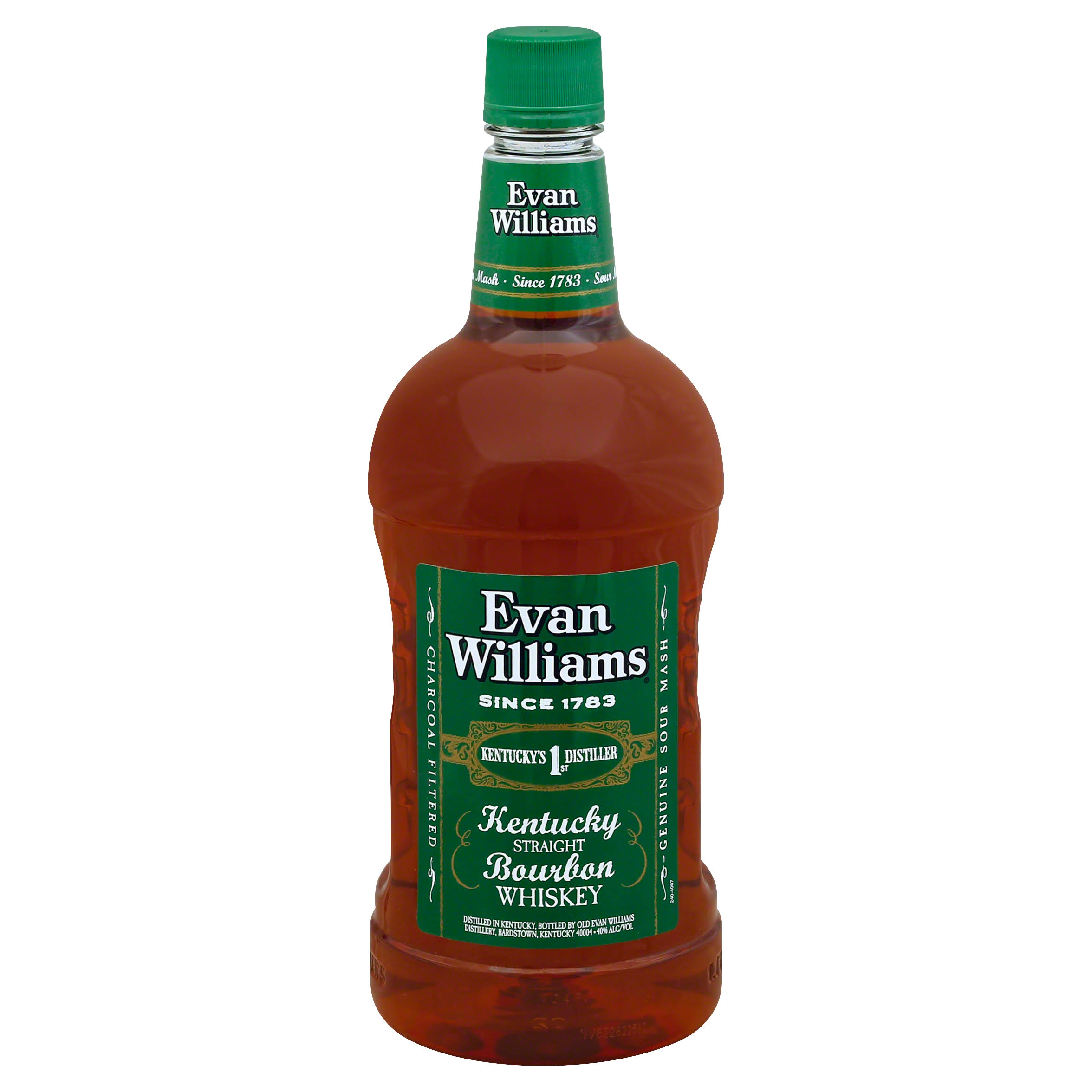 Evan Williams Kentucky Straight Bourbon Whiskey - 1.75 L bottle