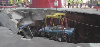 Corvette Museum Sinkhole Cars Lost by National Corvette Museum Sinkhole Video Gm Authority