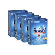 NEW Finish Classic Powerball Lemon Dishwasher Tablets 440 Bulk Pack ...
