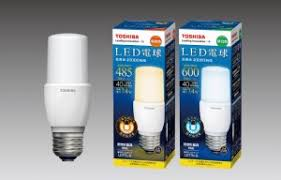 toshiba s new cylindrical led bulbs could successfully replace