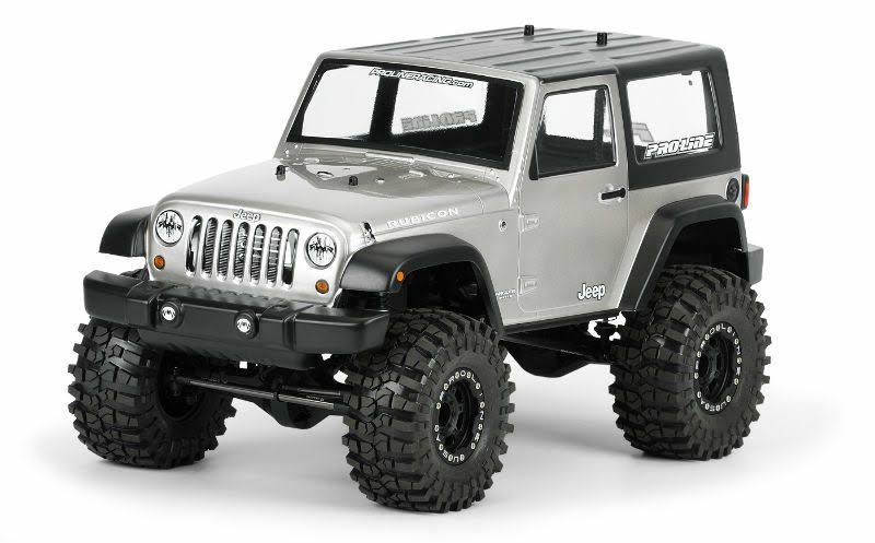 Pro Line Racing 332200 2009 RC Vehicle Jeep Wrangler Rubicon Clear Body