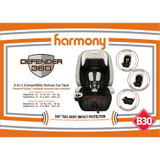 Graco Harmony High Chair Recall by Harmony Defender 360 3 In 1 Combination Booster Car Seat Walmart Com