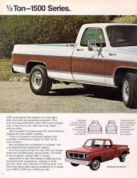 100 65 Gmc Truck Car Brochures 1973 Chevrolet And GMC Brochures