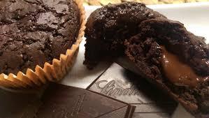 lava muffins schokotörtchen mit flüssigem kern vegan