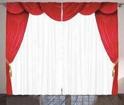 gardine schlafzimmer kräuselband vorhang mit schlaufen und haken abakuhaus theater klassische bühne vorhänge öffnen kaufen otto