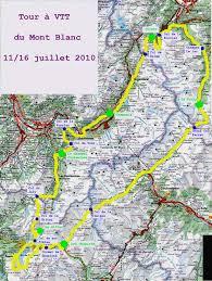 tour du massif du mont blanc à vtt juillet 2010 carpe diem