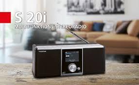 telestar s 20i internetradio dab stereo dab dab ukw farbdisplay direktwahltasten wecker favoritenspeicher silber schwarz